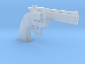 Colt Python revolver 1:6 in Smooth Fine Detail Plastic