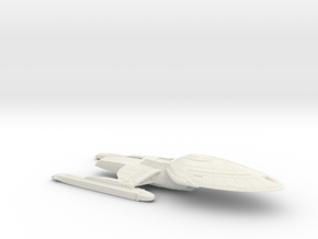 1/2500 USS Palomino Hull (Voyager Concept #1) in White Natural Versatile Plastic