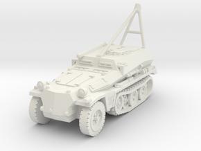 Sdkfz 253 ARV Crane 1/87 in White Natural Versatile Plastic