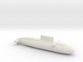 Kilo-Class, Full Hull, 1/1250 in White Natural Versatile Plastic