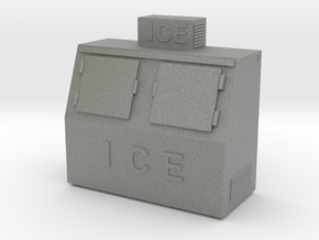 Ice Machine 01. 1:64 Scale (S) in Gray PA12