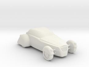 BG HotRod v1 1:160 Scale in White Natural Versatile Plastic