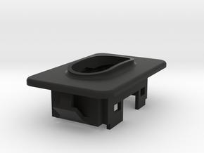 94-97 F-Series Crew Cab Rear Window Switch Bezel in Black Natural Versatile Plastic