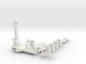 Sidewinder Kit in White Natural Versatile Plastic