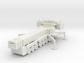 Liebherr LTM 1750-9.1 (deployed) 1/350 in White Natural Versatile Plastic