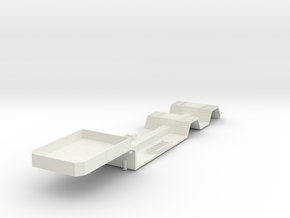 000039 1.50 Forstmaschinen Transporter in White Natural Versatile Plastic: 1:50
