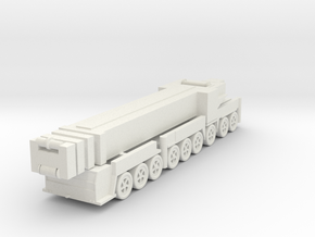 Liebherr LTM 1750-9.1 1/144 in White Natural Versatile Plastic