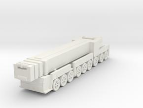 Liebherr LTM 1750-9.1 1/285 in White Natural Versatile Plastic