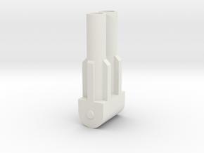 Grandus Foot Gun in White Natural Versatile Plastic