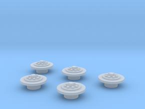 Crawler Gear Detail 3 1:72 in Smoothest Fine Detail Plastic
