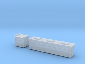 Battery boxes for VR Buffet Cars in Smoothest Fine Detail Plastic