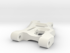Reproduction of Andys RC10 front arm in White Natural Versatile Plastic