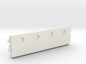 Kyosho double dare roll bar top panel f2 part in White Natural Versatile Plastic