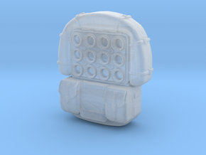 Jedha Patrol Backpack 3.75 scale in Smooth Fine Detail Plastic