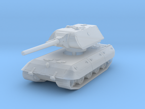 E 100 Maus 128mm (side skirts) 1/200 in Smooth Fine Detail Plastic