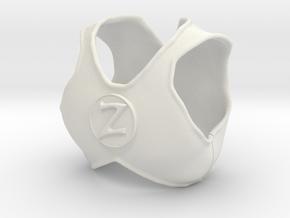 LC Z Putty Vest  in White Natural Versatile Plastic