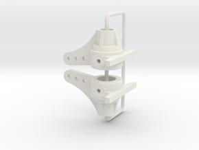 959 front steering knuckle in White Natural Versatile Plastic