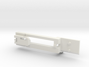 Tokyo Marui NGRS M4 Blowback Frame Part A in White Natural Versatile Plastic
