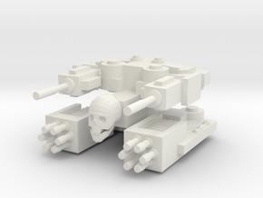 Aotrs205 Overwhelmer Light Cruiser in White Natural Versatile Plastic