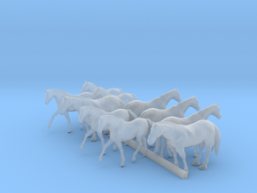 TT Scale Horses in Smoothest Fine Detail Plastic