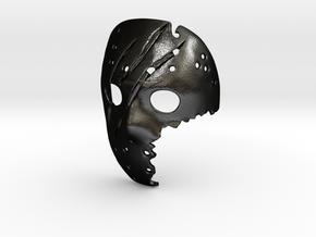 SAVINI Jason Pendant ⛧ VIL ⛧ in Matte Black Steel: Small