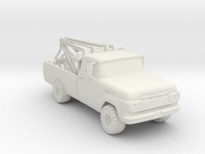 4x4 Wrecker 1:160 Scale in White Natural Versatile Plastic