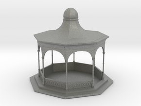 O Scale Bandstand in Gray PA12