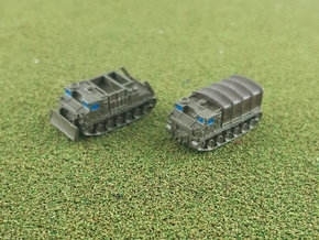 US M8 High Speed Tractor 1/285 in Smooth Fine Detail Plastic