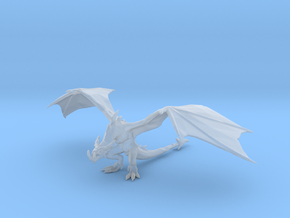 Wyvern 60mm DnD miniature fantasy games and rpg in Smooth Fine Detail Plastic