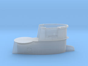 1/144 DKM U-Boot VII/C Conning Tower in Smooth Fine Detail Plastic