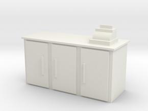 Shop Cash Counter 1/12 in White Natural Versatile Plastic