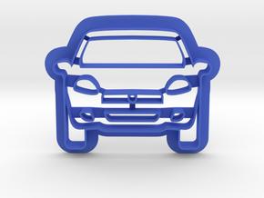 Car Cookie Cutter in Blue Processed Versatile Plastic