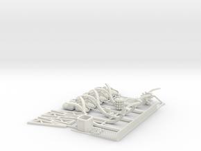 SPIDER - Full Kit in White Natural Versatile Plastic