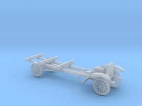 HOn3 Scale 1917 Model TT Railtruck Chassis in Smooth Fine Detail Plastic