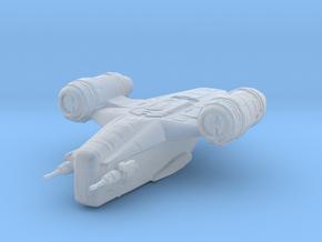 Mandalorian Gunship Razor Crest high detail in Smooth Fine Detail Plastic