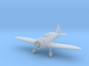 Reggiane Re.2000 Wheels Down 1:144 and 1:100 in Smooth Fine Detail Plastic: 1:100