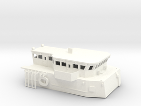 HMCS Kingston, Superstructure (1:96, static / RC) in White Processed Versatile Plastic
