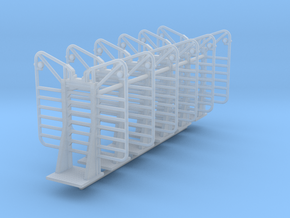 1/64th Logging headache Rack 7 bar builders pack in Smooth Fine Detail Plastic