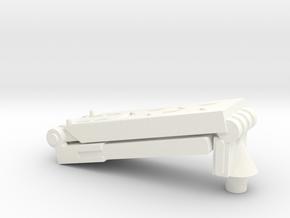 "PRHI FO Stormtrooper Heavy Blaster Stand 3 3/4"" in White Processed Versatile Plastic"