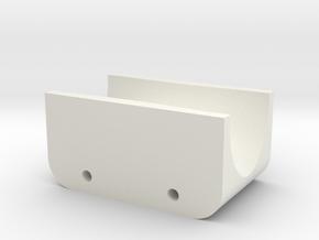 Mk 5 Cord Hanger RevD in White Natural Versatile Plastic