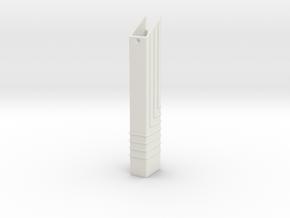 DS Grip in White Natural Versatile Plastic
