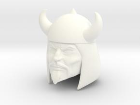 Rago Head in White Processed Versatile Plastic