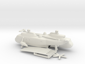Westland WS-61 Sea King in White Natural Versatile Plastic: 6mm