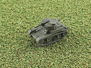 US M2A3 Combat Car1/285 in Smooth Fine Detail Plastic