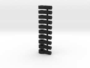 Vintage Kyosho Stabilizer Kit Rods ends X 10 in Black Natural Versatile Plastic