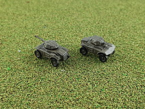 British Coventry Armoured Car Mk. I & II 1/285 6mm in Smooth Fine Detail Plastic