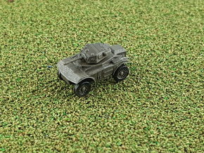 British Coventry Amoured Car Mk I 1/285 6mm in Smooth Fine Detail Plastic