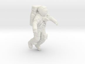 Apollo Astronaut Jumping 1:48 in White Natural Versatile Plastic