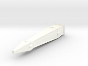 Pierre gardienne elfique 13.4cm (décors wargames s in White Processed Versatile Plastic