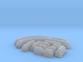 1/144 Sandbag Set in Smooth Fine Detail Plastic